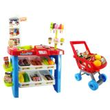 Sale Xiong Cheng 668 22 Dessert Shop Playset With Trolley Red Xiong Cheng Branded