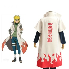 Xxl Size Hot Anime Naruto Cosplay Costumes Fourth Hokage Namikaze Minato Cape Outfit Cosplay Cloak Fourth Generation Hokage Cosplay Cloak Size Xxl Intl Compare Prices