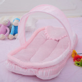Buy Ybc Portable Folding Baby Mosquito Nets Cradle Bed Sleeping Cribs Pink Intl Cheap On China