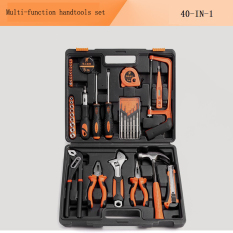 Discount 40 In1 Hand Tool Set Multi Function Car Repair Tools Portable Household Kit Screwdriver Wrench Ruler Pilers Cutter Oem On Singapore