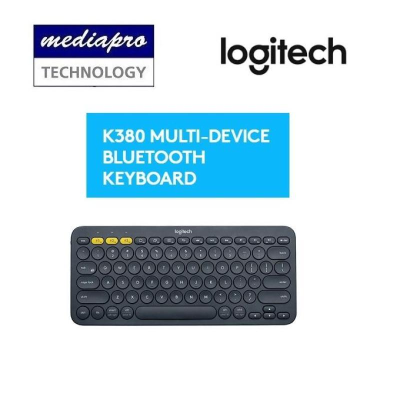 Logitech K380 Multi-Device Bluetooth Keyboard ( Black ) - Local Distributor Warranty Singapore