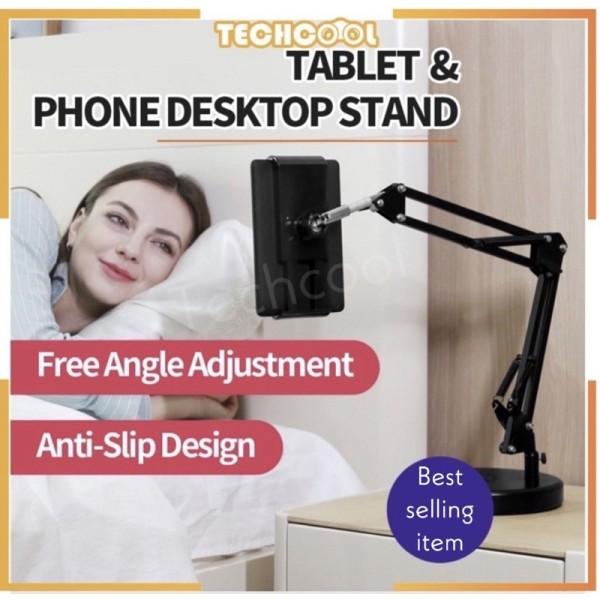 Lazy Tablet Mobile Phone Holder Bracket Foldable Long Arm Desktop Support 360 Degree Adjustable Lazy Stand Phone clip