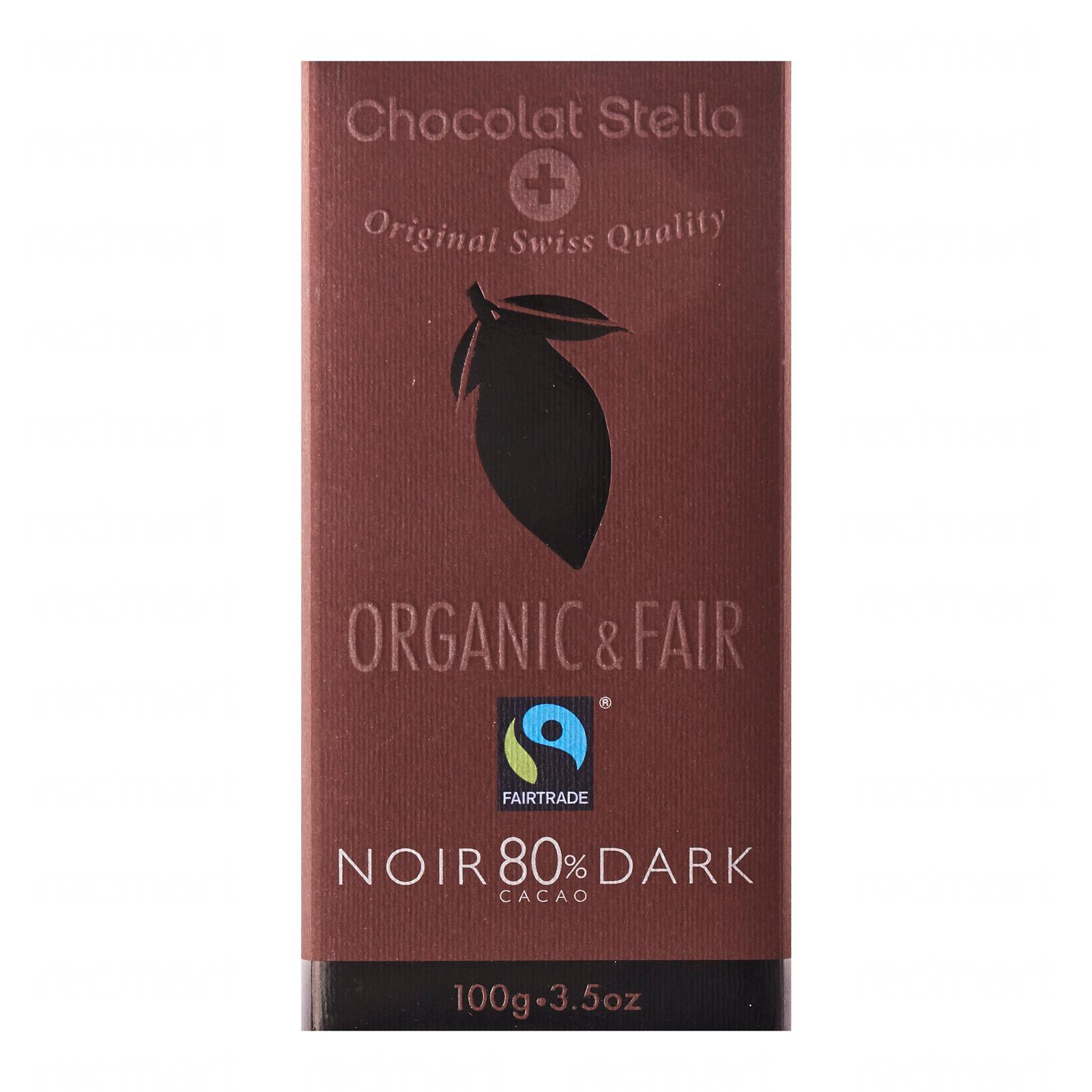 Stella Organic 80 Percent Dark Chocolate
