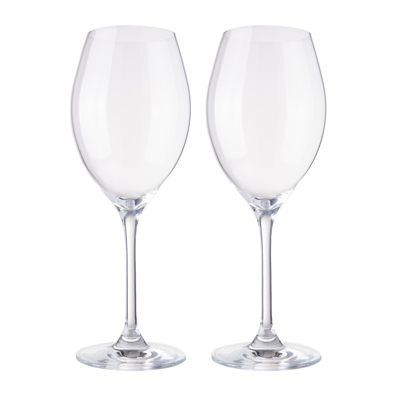 Plumm Crystal Wine Glasses - Vintage WhiteA (2 Glasses) - Le Vigne