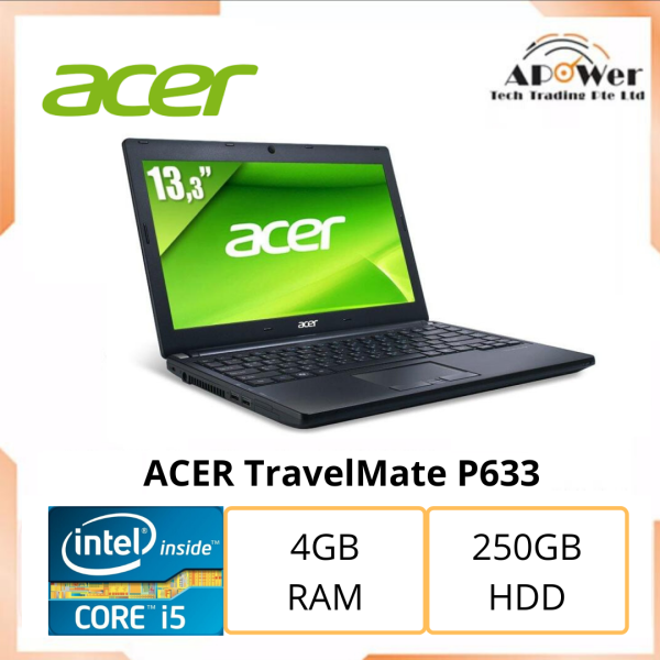 ACER TravelMate P633 i5 3230M 2.60GHz/4g/250g