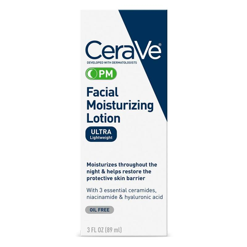 Buy Cerave PM Facial Moisturizing Lotion Pack of 1 - 3 oz (89ml) Singapore