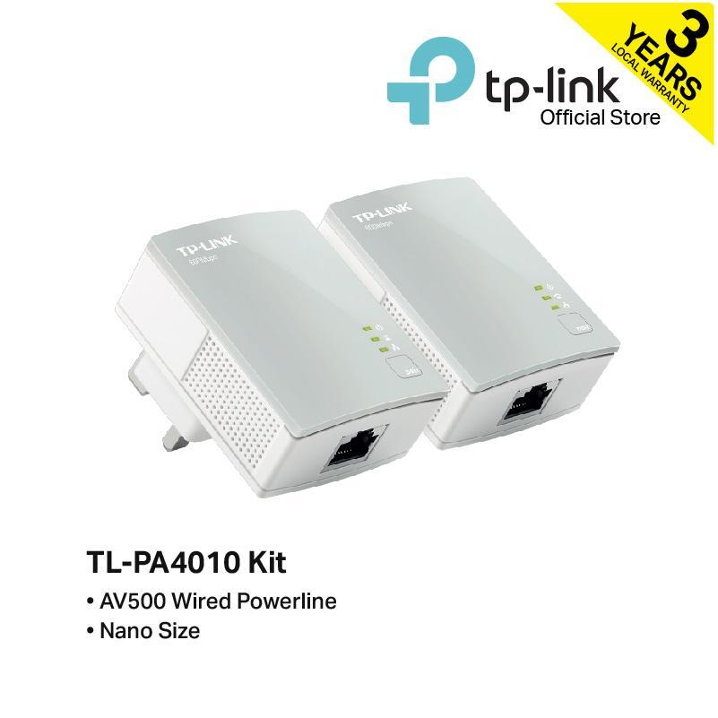 Tp-Link - Tl-Pa4010kit, Av500 Nano Powerline Adapter Starter Kit By Tp-Link Official Store.