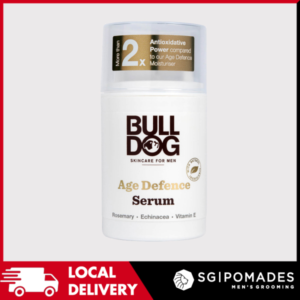 Buy Bulldog Age Defence Serum 50ml-SGPOMADES Singapore