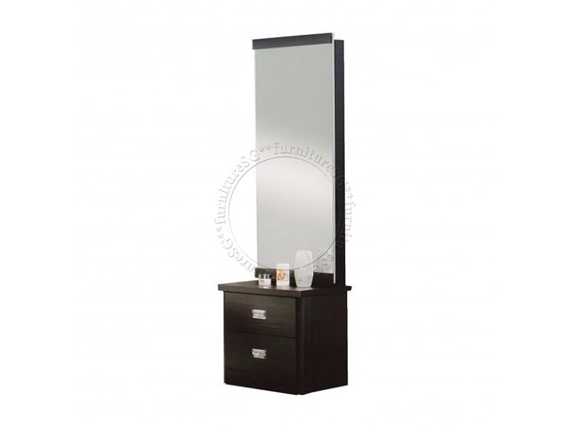 (FurnitureSG) Dressing Table with Sliding Mirror