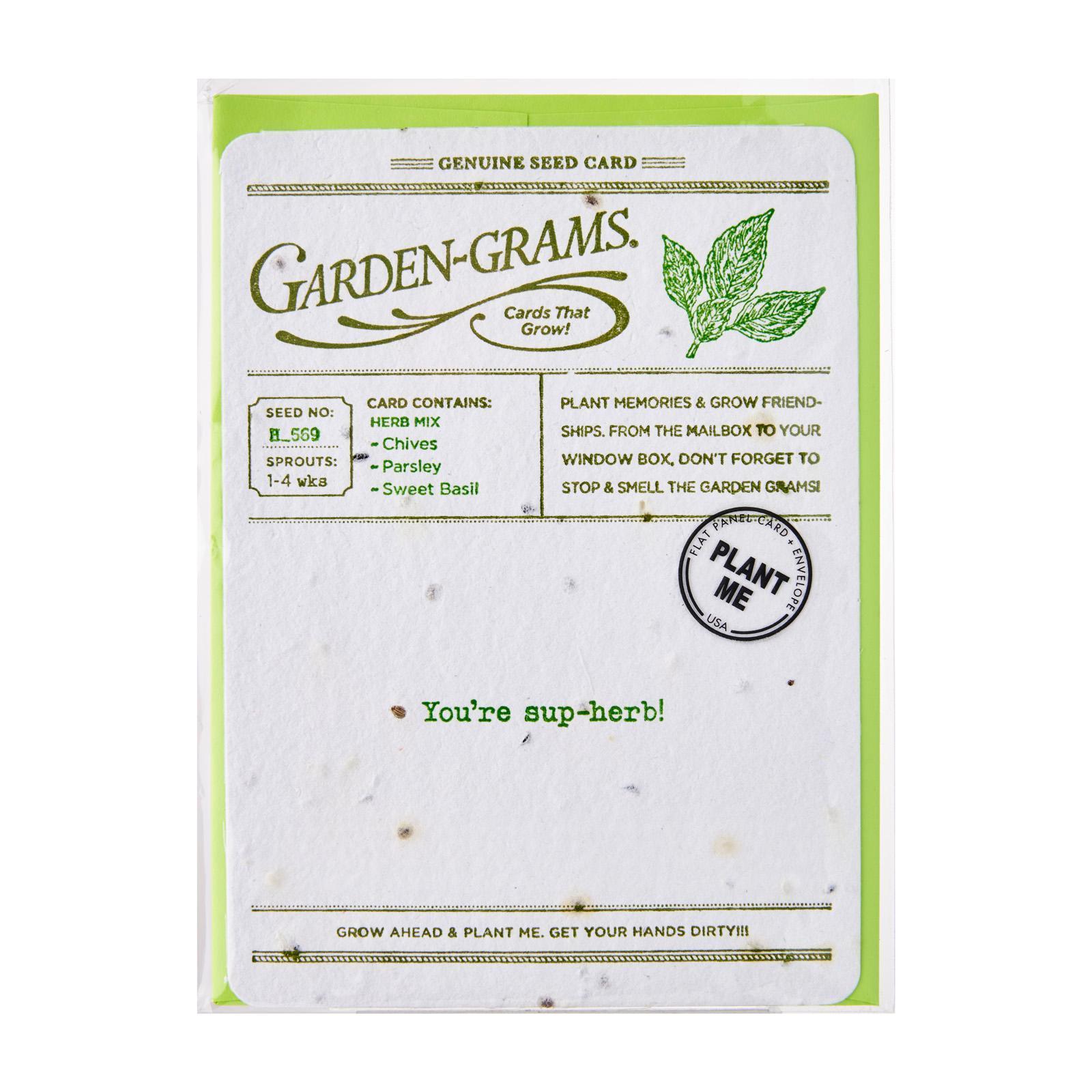 Garden-Grams Garden Grams - You're Sup-Herb