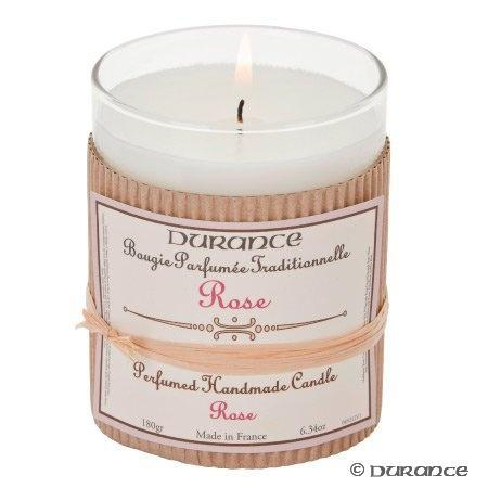 Perfumed Handmade Candle 180gr - Rose