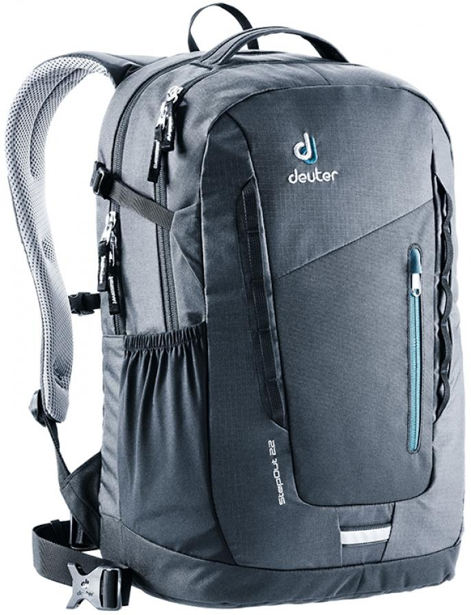 Deuter Stepout 22 With 17  Laptop Compartment - Black