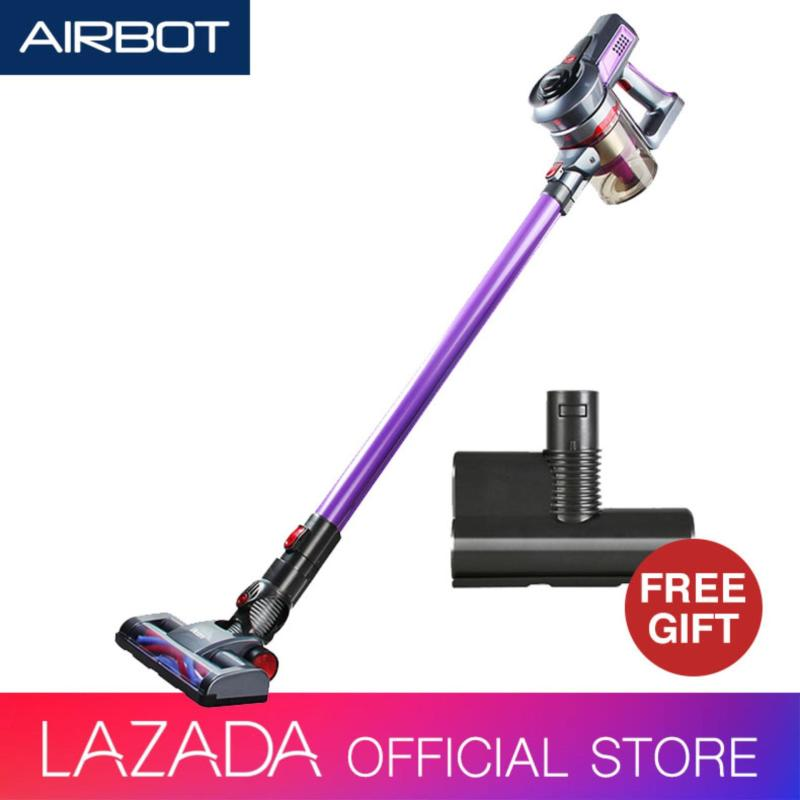 Airbot iRoom Fluffy Cordless 2in1 Handheld Vacuum Cleaner with Motorised Floor Brush Gift ( Purple ) Singapore