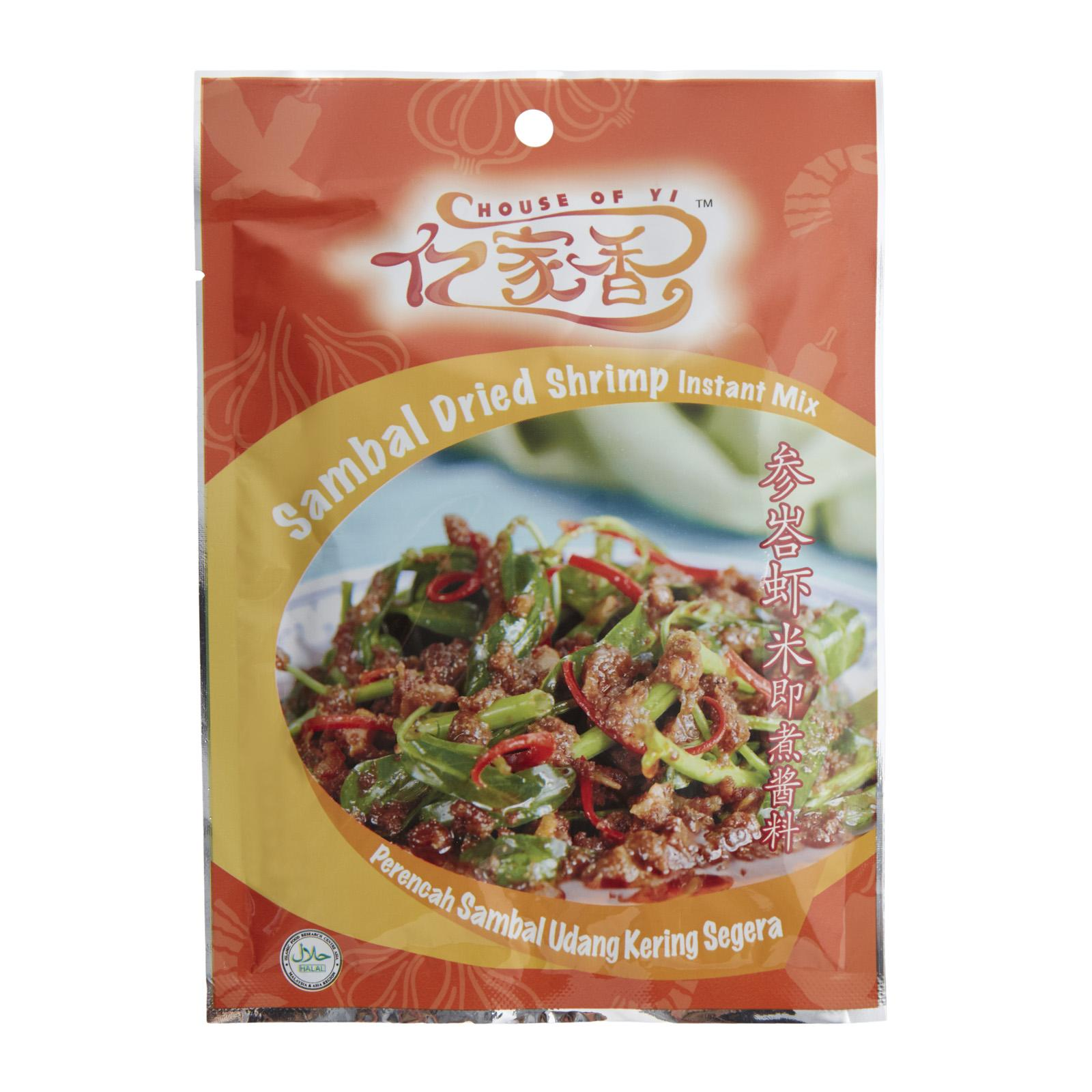 House Of Yi Sambal Dried Shrimp Instant Mix - By FOOD SERVICE