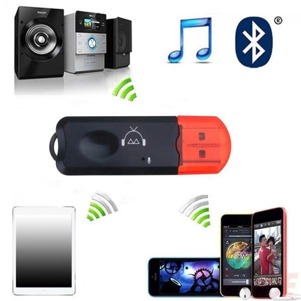 Bộ Chuyển Đổi Thu Âm Thanh Stereo AUX 3.5Mm Bluetooth Dây USB Động 2 Di Mic Loa Trong Dongle Không Động Thoại Có Di Điện Một, Cho Q0K4
