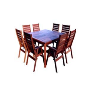 Sheldon Gascoyne Jarrah Solid Timber Outdoor Dining Table