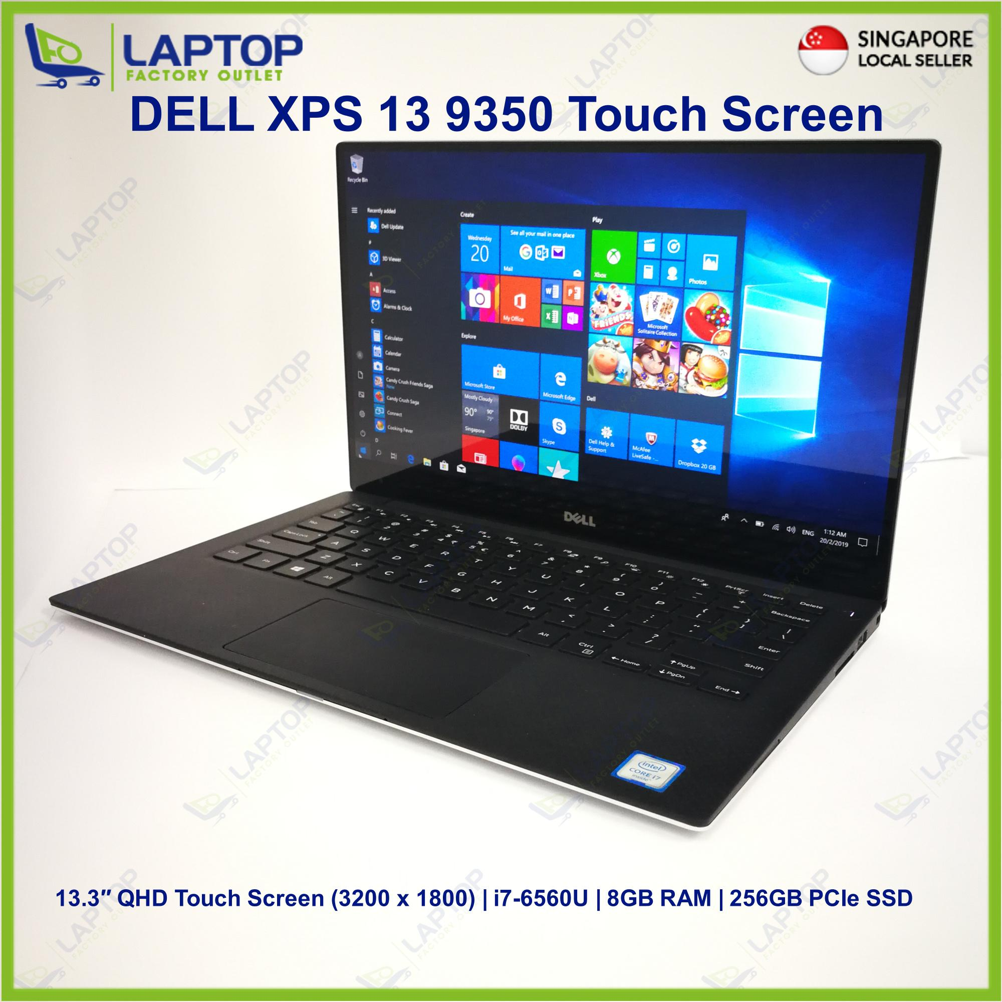 DELL XPS 13 9350 Touch Screen (i7-6/8GB/256GB SSD)