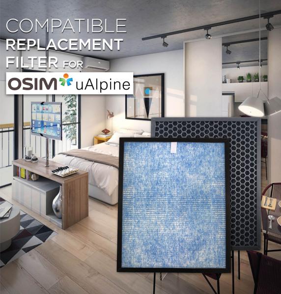 Osim uAlpine Compatible HEPA and Carbon Filters [HEPAPAPA] Singapore