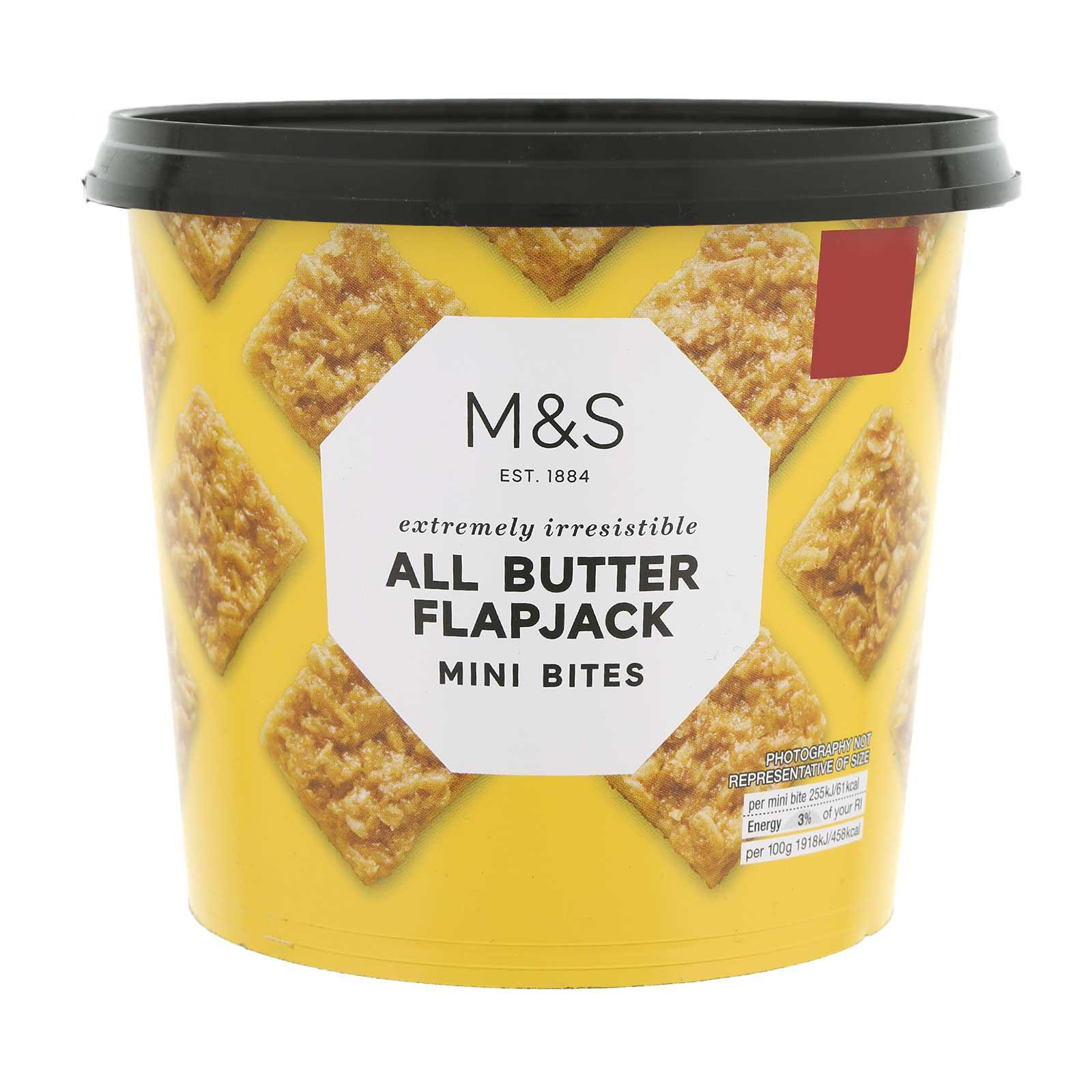 Marks & Spencer All Butter Flapjack Minibites