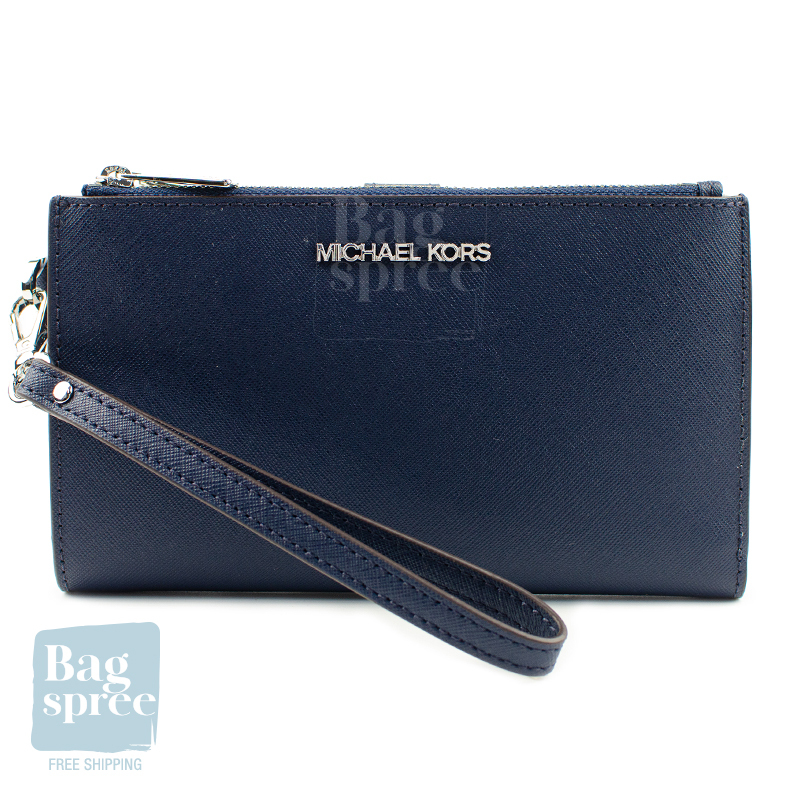 [Authentic & Brand New] Michael Kors Jet Set Travel Large Double Zip Wristlet [Gift Receipt Provided] [NEWIN] [FLEXI] [SWF]