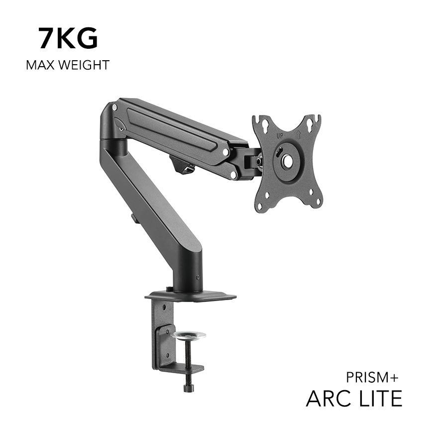 PRISM+ ARC LITE Single Monitor VESA Monitor Arm