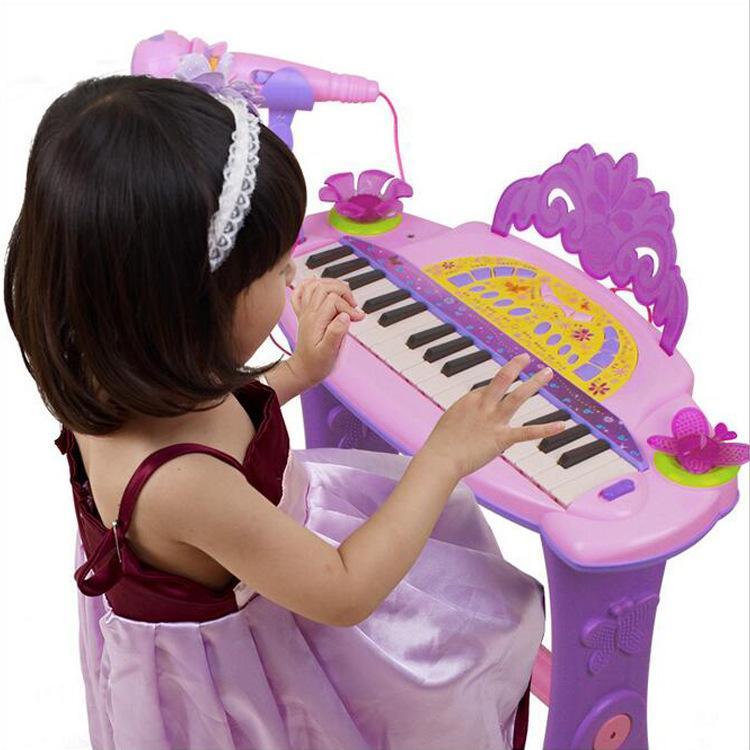 Piano Elektronik Anak-Anak Pendidikan Awal Bayi 0-3-6 Tahun Piano Elektronik Bayi Dengan Piano Mikrofon By Xueqingxi