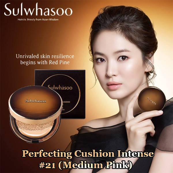 Buy (Best Selling) Sulwhasoo Perfecting Cushion Intense 5g No. 21 (Medium Pink) Singapore