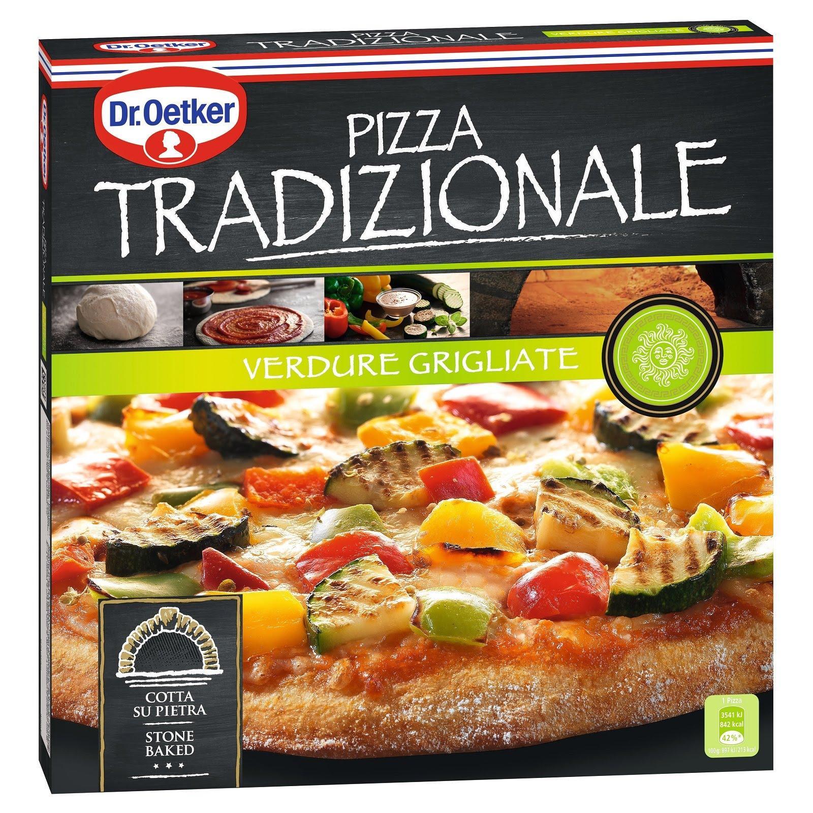 Dr Oetker Tradizionale Grilled Vegetables Pizza - Frozen