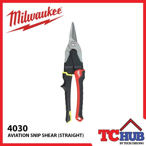 Milwaukee 4530 Aviation Snips (Straight)