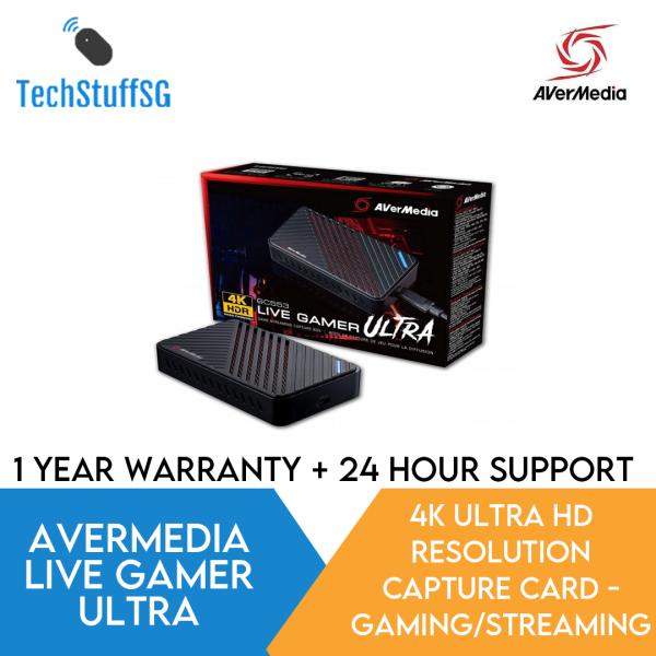 AVerMedia Live Gamer Ultra | GC553 - External USB 3.1 4K UHD Capture Card