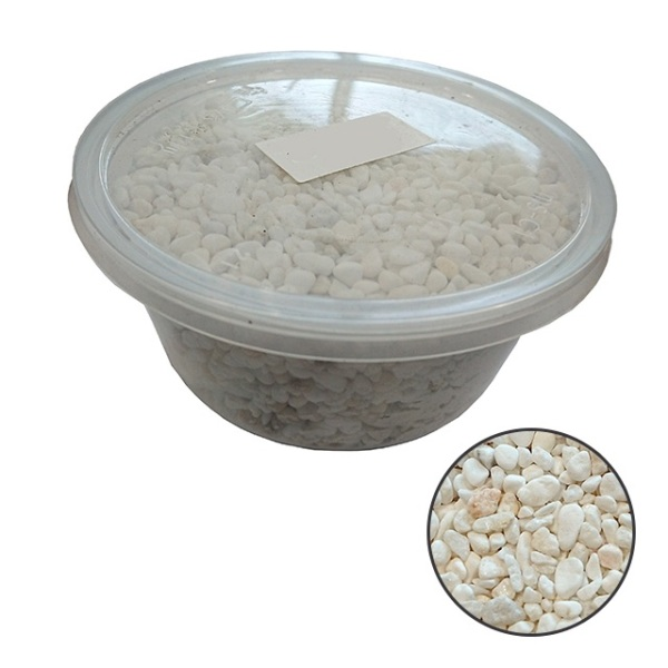 White River Wash Pebbles 3-5mm (Small Box) - perfect for terrariums