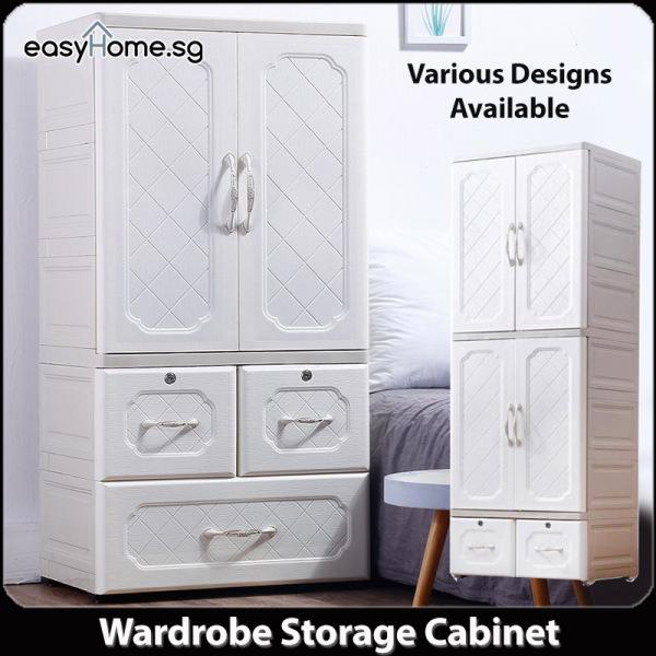 European Style Wardrobe Cabinet 59 / Drawers Organizer Storage Shelf Clothes Rack Closet