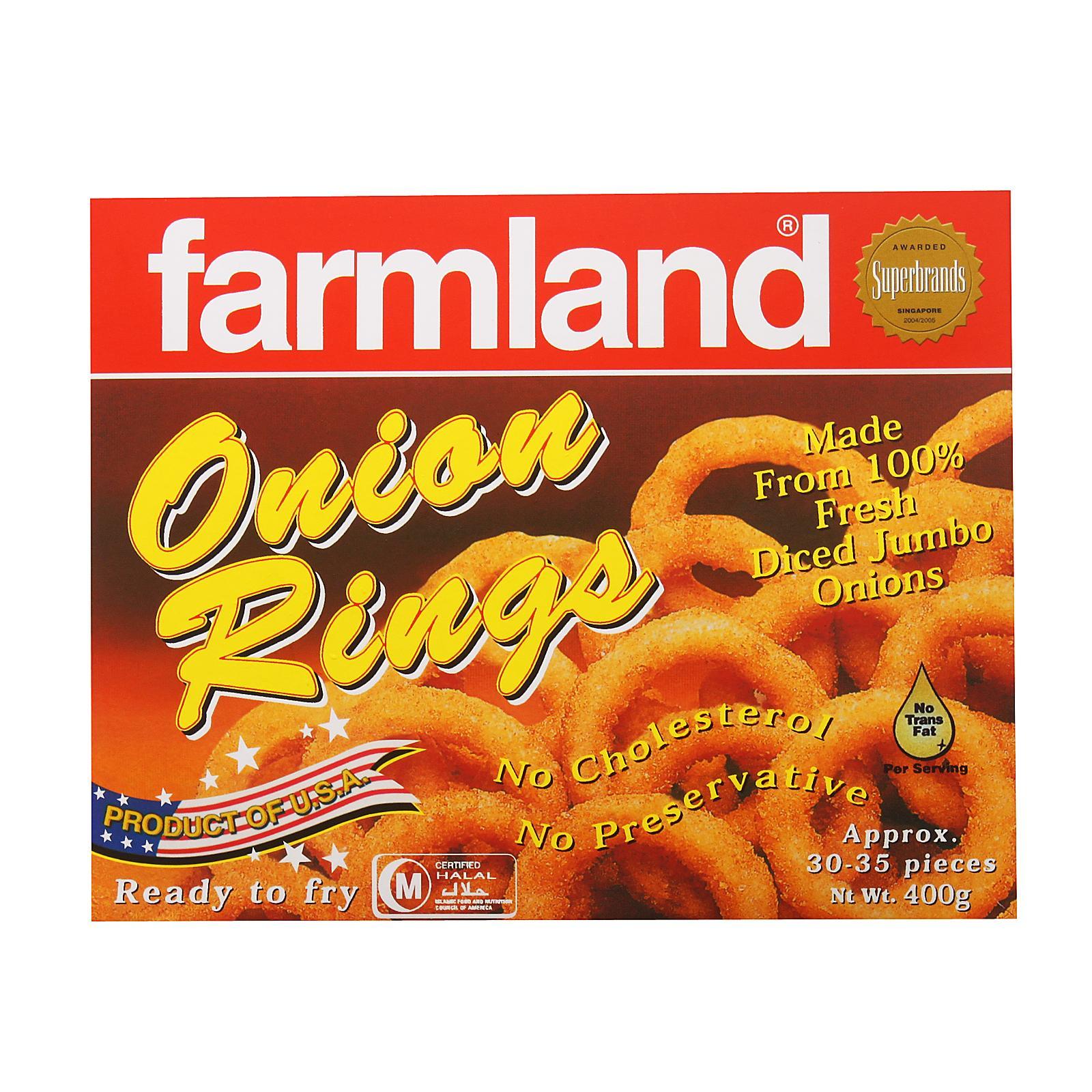 Farmland Onion Rings - Frozen By Redmart.