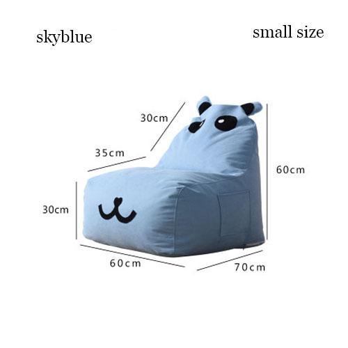 Kids Bean Bag Cartoon Small Lazy Sofa For Children