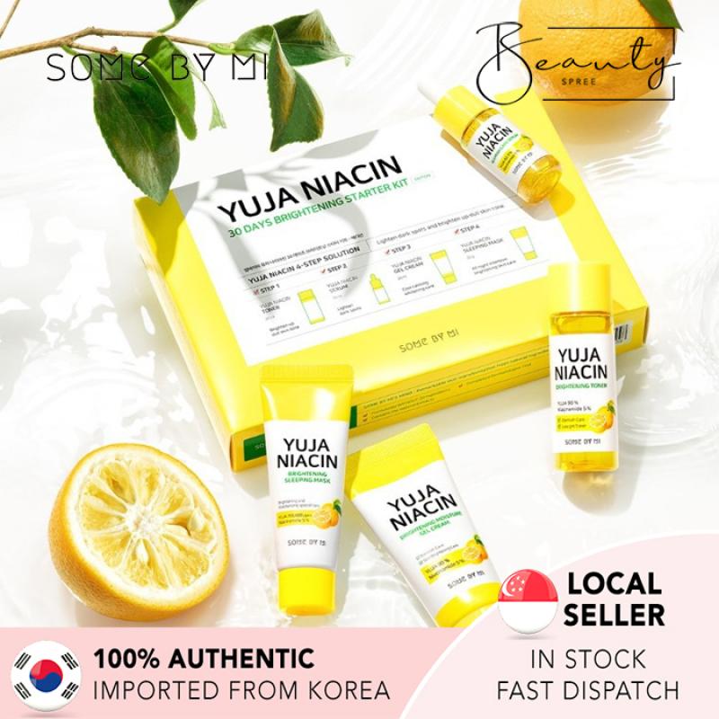 Buy [In Stock] SOME BY MI Yuja Niacin 30 Days Brightening Starter Kit Singapore