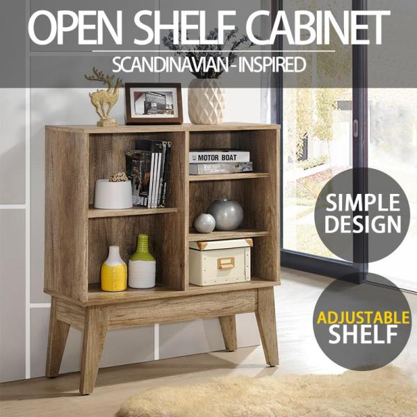 [FREE INSTALLATION/DELIVERY] SO Cevo Open Shelf Cabinets