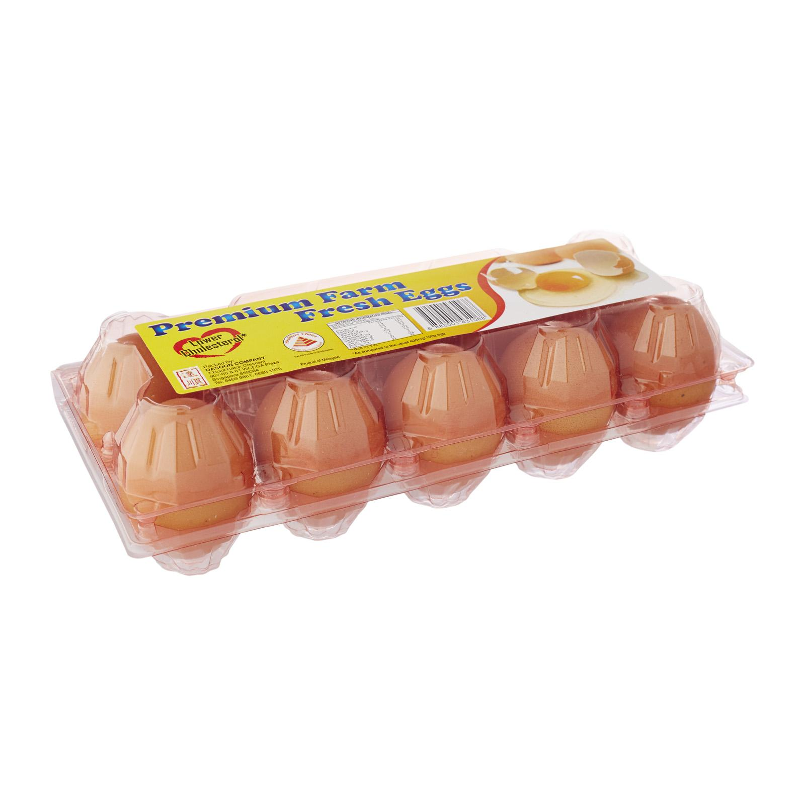 Dasoon Lower Cholestrol Fresh Eggs 10S (Keep Chilled)