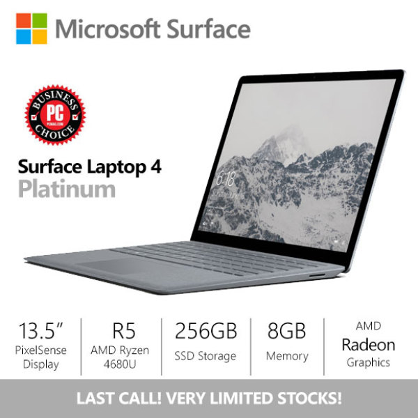 [SALE] Microsoft Surface Laptop 4 13.5 R5/8gb/256gb Platinum