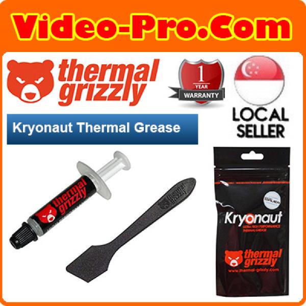 Thermal Grizzly Kryonaut 1G / 5.5G / 11G Thermal Grease TG-K-001-RS / TG-K-015-R / TG-K-030-R