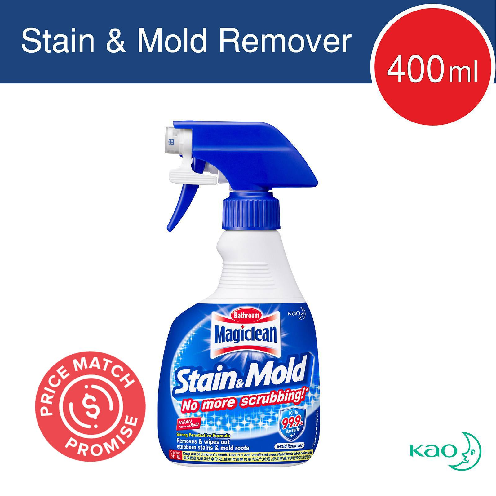 MAGICLEAN magiclean bathroom stain and mold remover 400ml