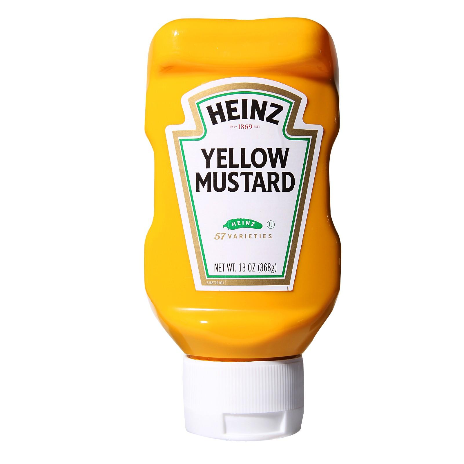 Heinz Yellow Mustard By Redmart.