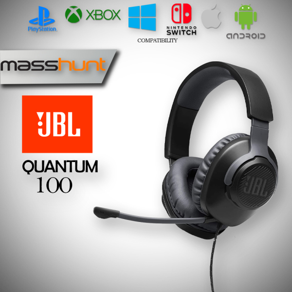 JBL Quantum 100 Gaming Headset with Detachable Microphone Singapore