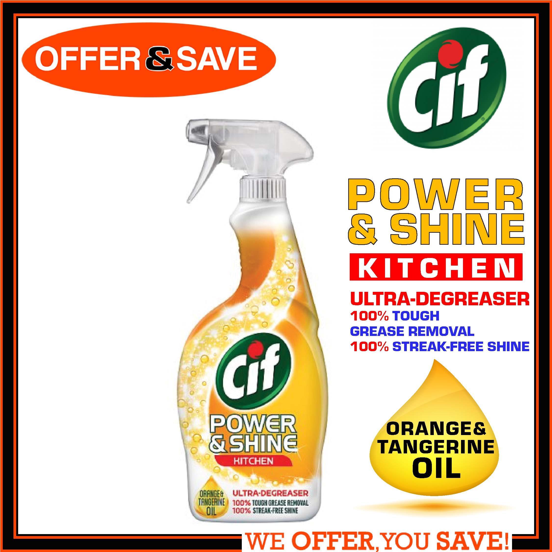 Cif Power Shine Kitchen Spray 700ml