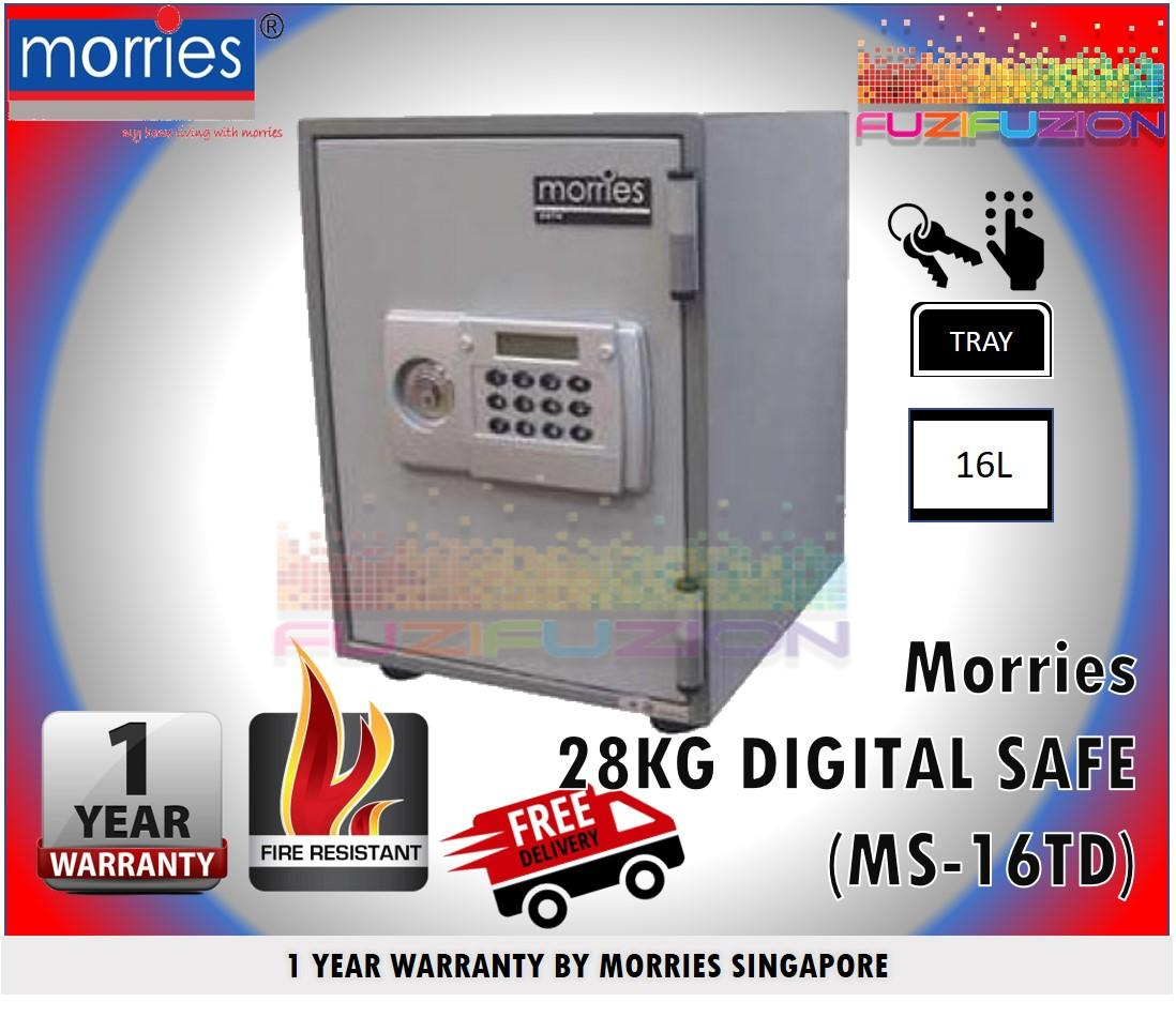 Morries Digital Fire Resistant Safe Box MS-16TD