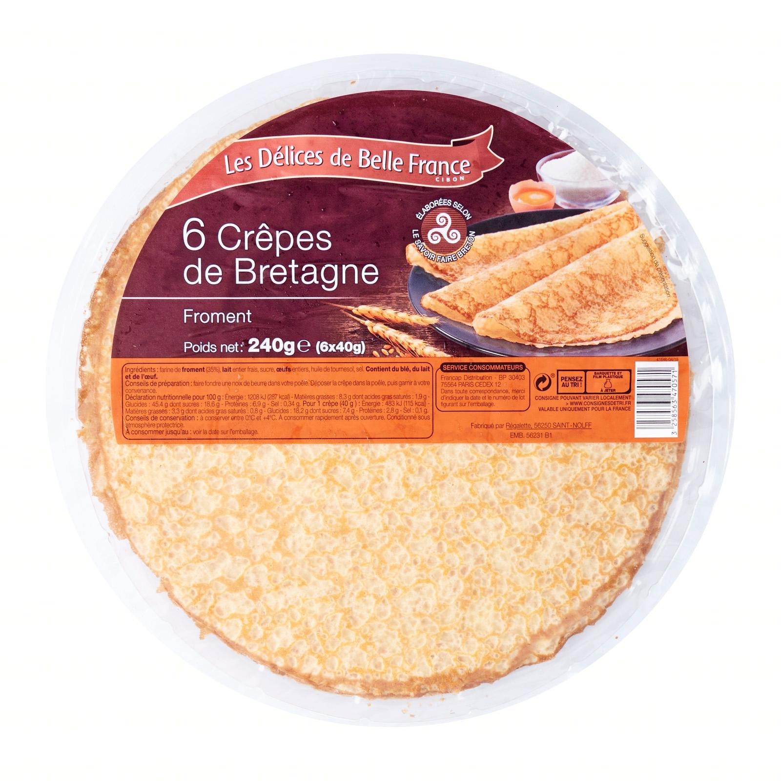 Delices De Belle France Crepes - By Le Petit Depot By Redmart