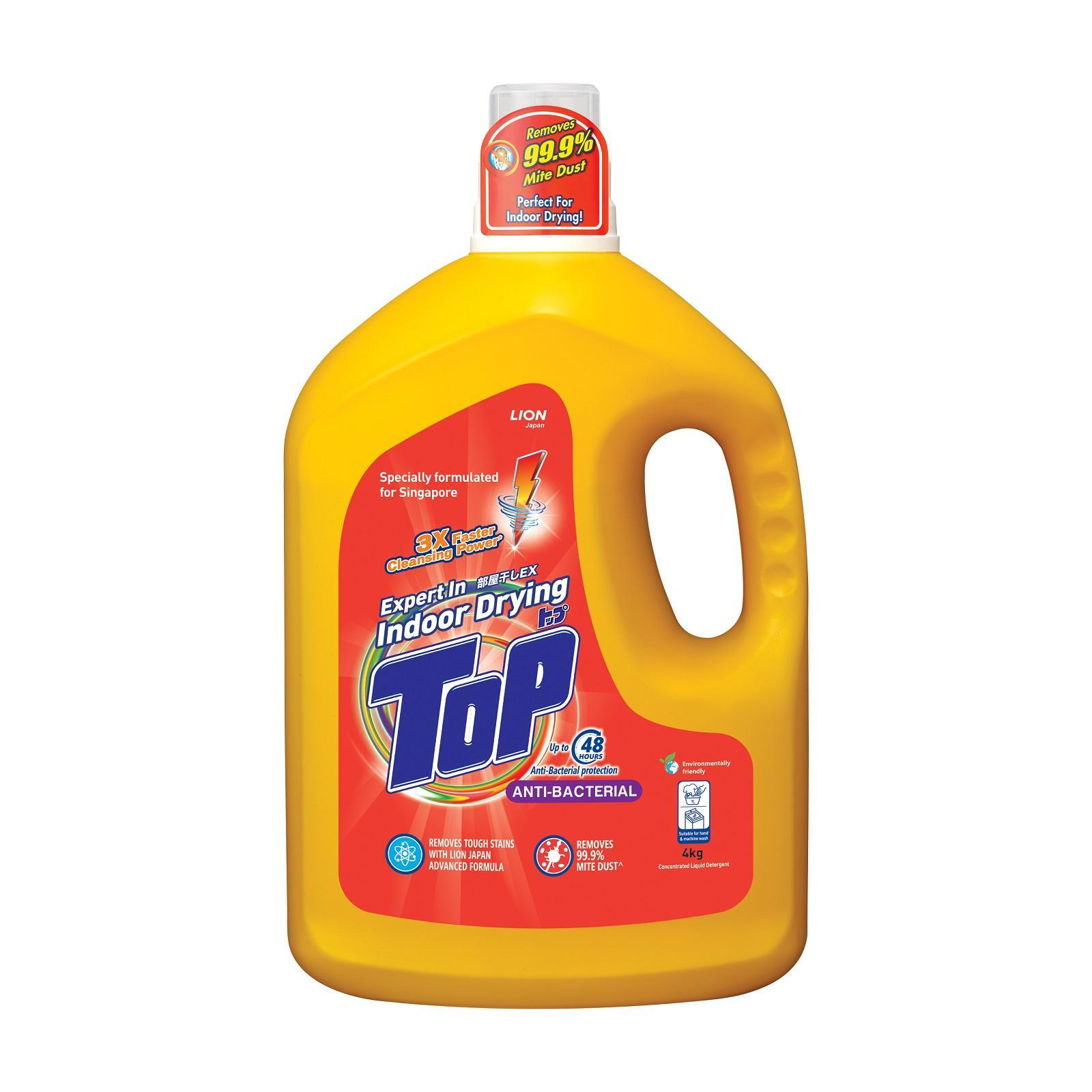 Top Anti Bacterial Concentrated Liquid Detergent