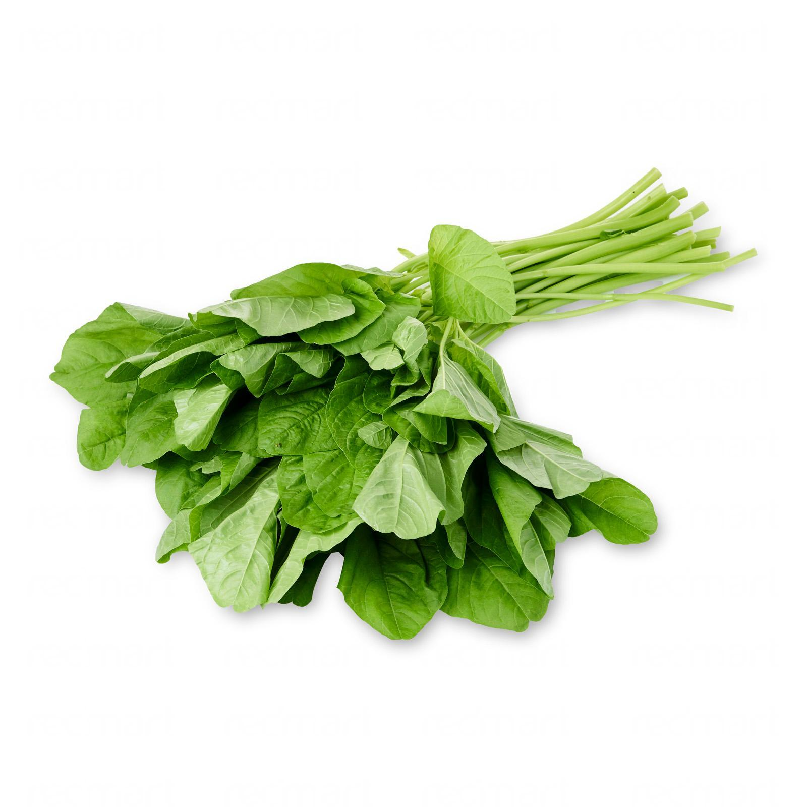 The Little Red Farm Round Leaf Bayam With Spinach