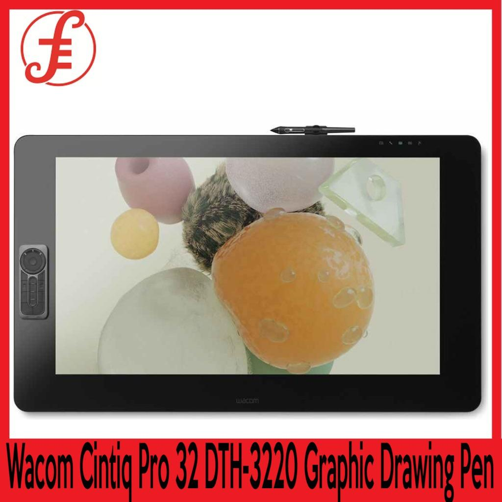 Wacom DTH-3220 Cintiq Pro 32 Touch Cintiq Pro 32 DTH-3220 Graphic Drawing Pen & Touch Display Tablet FREE SAMSUNG ESSENTIAL WIRELESS BLUETOOTH HEADSET WHILE STOCKS LAST  (DTH-3220/K1-CX CINTIQ PRO 32 )