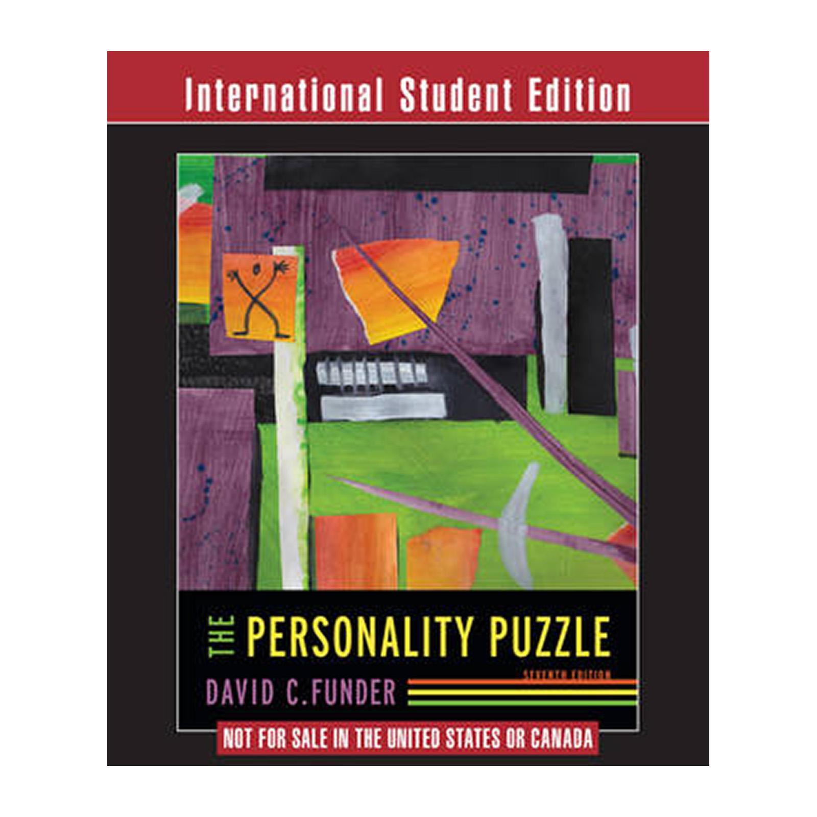 The Personality Puzzle (Paperback)