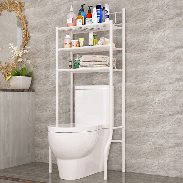 Chang 61 Width 37 High 151cm Bathroom Toilet ma tong jia Storage Shelf Toilet Organizing Rack Landing xi yi ji jia